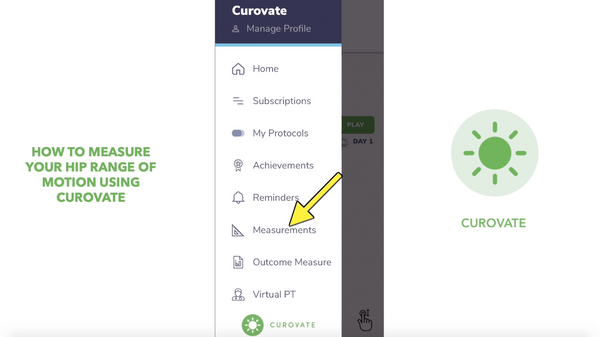 How to Measure Your Hip Range of Motion Using Curovate