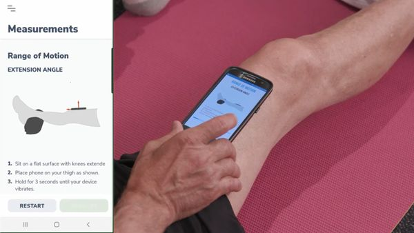 How to Measure Your Knee Range of Motion Using Curovate